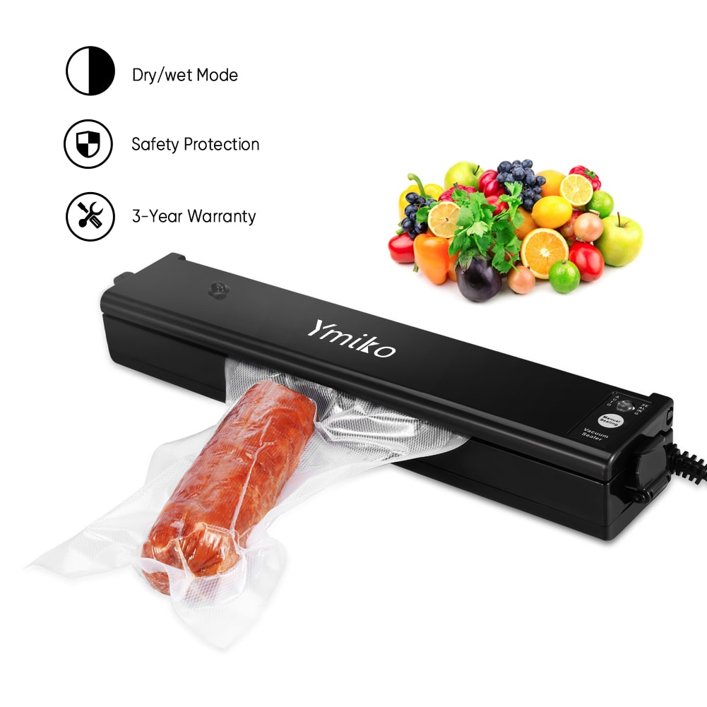 Vacuum Sealer Machine Black